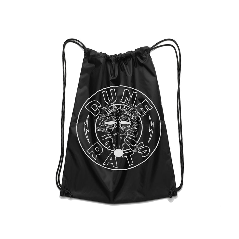 Dune Rats Death Rat Drawstring Bag - Bingo Merch Official Merchandise Shop Official