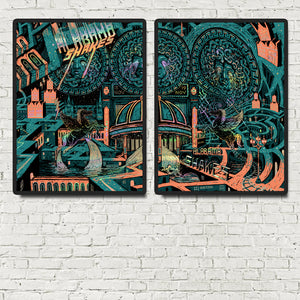 Alabama Shakes Brixton double pack Poster- Bingo Merch Official Merchandise Shop Official
