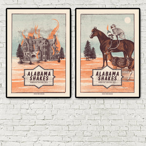 Alabama Shakes Dublin double pack Poster- Bingo Merch Official Merchandise Shop Official