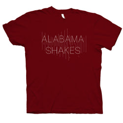 Alabama Shakes Logo T-Shirt- Bingo Merch Official Merchandise Shop Official
