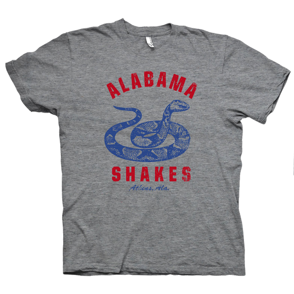 Alabama Shakes Snakes T-Shirt- Bingo Merch Official Merchandise Shop Official