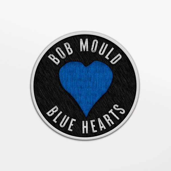 Bob Mould (PRE-ORDER) Blue Hearts Patch Other- Bingo Merch Official Merchandise Shop Official