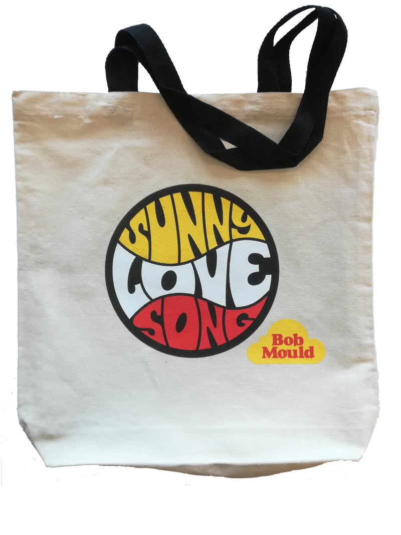 Bob Mould Sunshine Rock Totebag Totebag- Bingo Merch Official Merchandise Shop Official