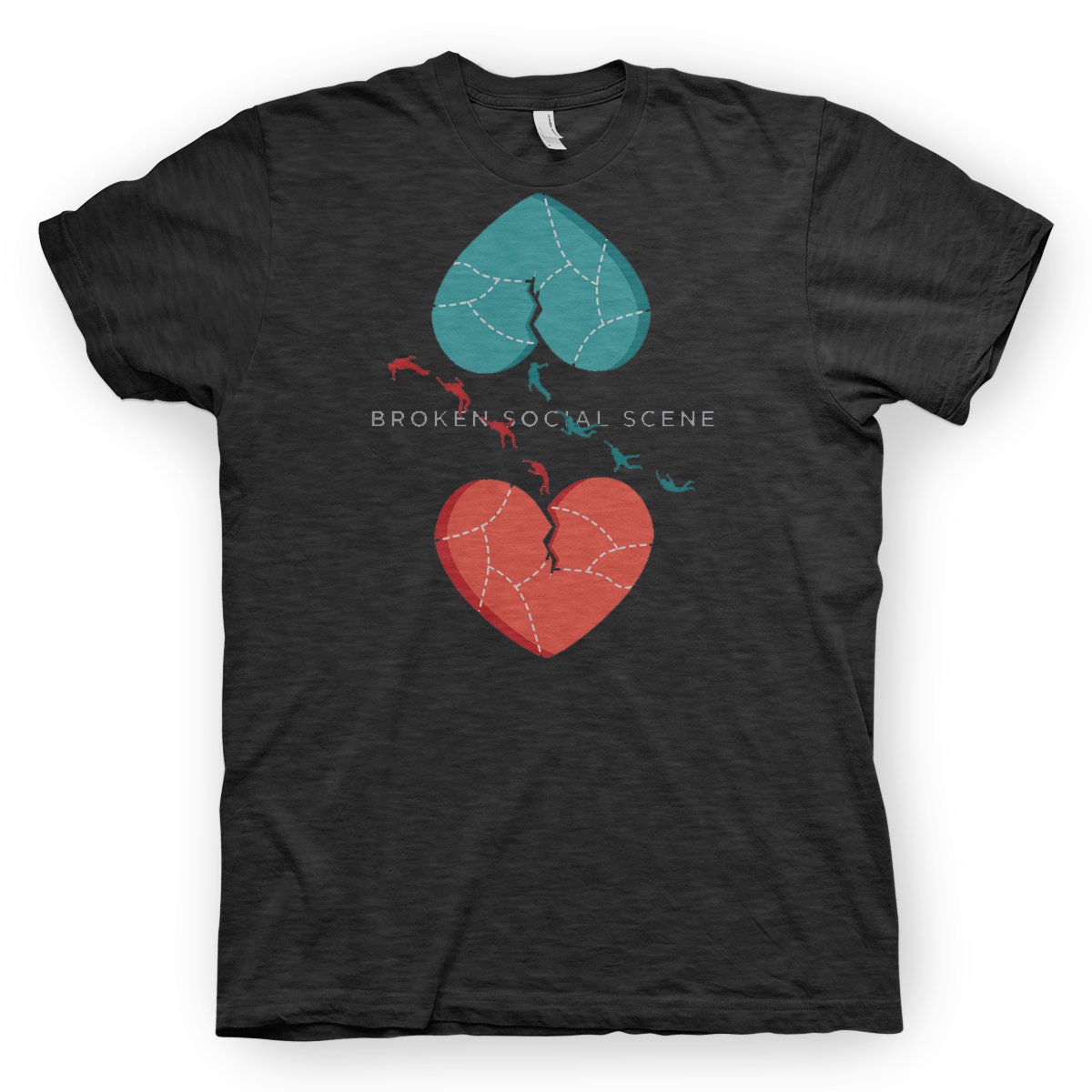 Hearts Dark Heather Grey