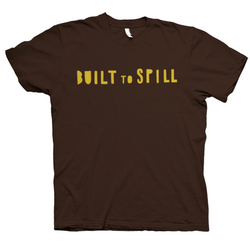 Built To Spill Built To Spill Logo T-Shirt- Bingo Merch Official Merchandise Shop Official