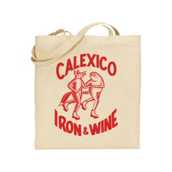 Calexico and Iron & Wine Fox & Toad Totebag Totebag- Bingo Merch Official Merchandise Shop Official