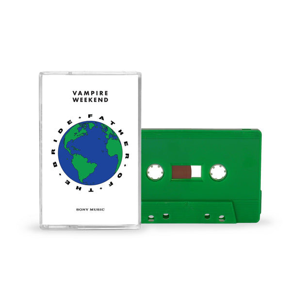 Vampire Weekend Father of the Bride Green Cassette Tape Cassette- Bingo Merch Official Merchandise Shop Official
