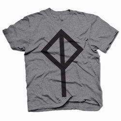 Cat Power Logo Grey T-Shirt- Bingo Merch Official Merchandise Shop Official