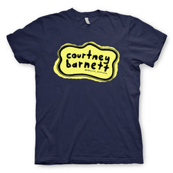 Courtney Barnett Yellow Logo T-Shirt- Bingo Merch Official Merchandise Shop Official