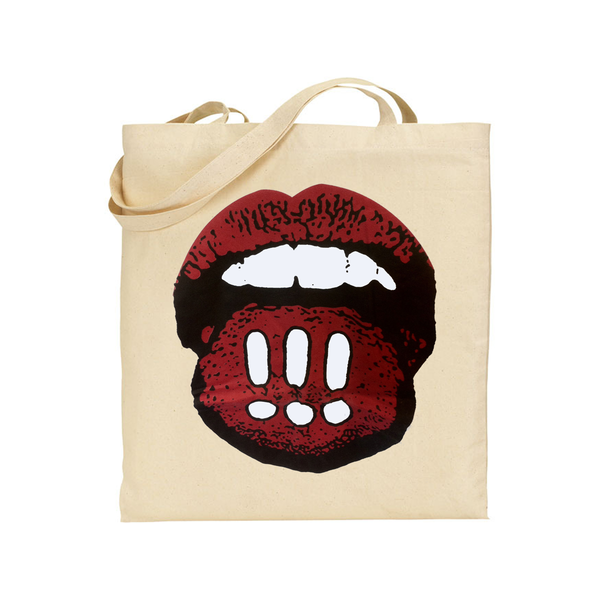 !!! Mouth Totebag Totebag- Bingo Merch Official Merchandise Shop Official
