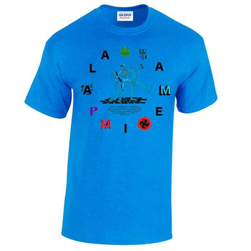 Tame Impala Clock Blue T-Shirt- Bingo Merch Official Merchandise Shop Official