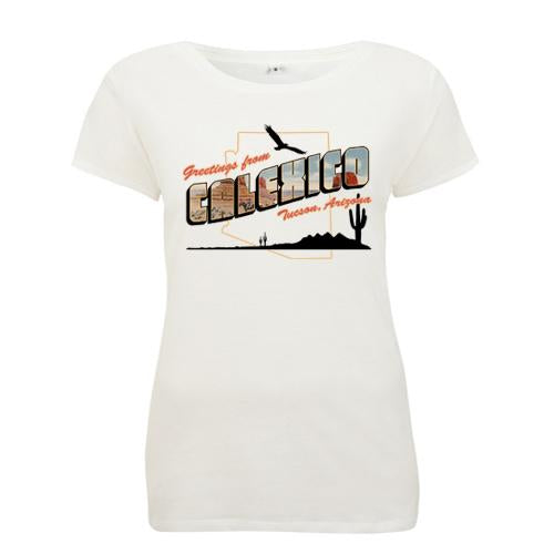 Calexico Greetings - girls T-Shirt- Bingo Merch Official Merchandise Shop Official