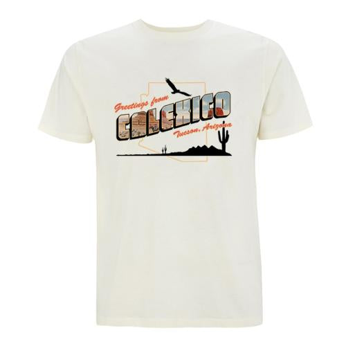 Calexico Greetings T-Shirt- Bingo Merch Official Merchandise Shop Official