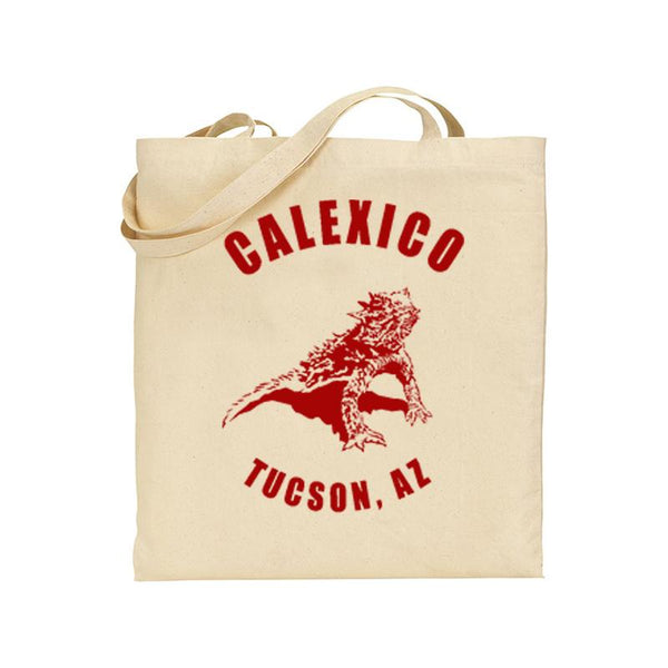 Horned Toad totebag