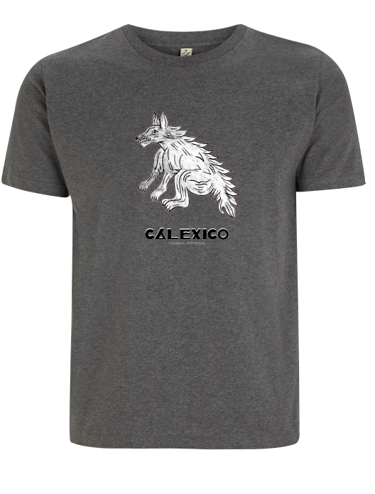 Calexico Coyote T-Shirt- Bingo Merch Official Merchandise Shop Official
