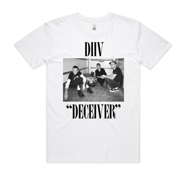 DIIV Deceiver Tour T-Shirt- Bingo Merch Official Merchandise Shop Official