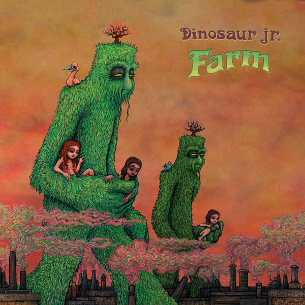Dinosaur Jr. Farm LP 2LP- Bingo Merch Official Merchandise Shop Official