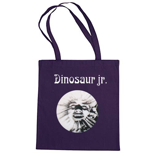 Dinosaur Jr. Artie Face Totebag Totebag- Bingo Merch Official Merchandise Shop Official