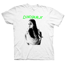 Dinosaur Jr. Green Mind - White T-Shirt- Bingo Merch Official Merchandise Shop Official