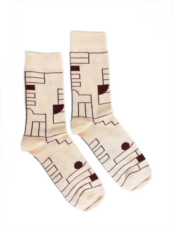 Efterklang Lyset EP Natural Socks Socks- Bingo Merch Official Merchandise Shop Official