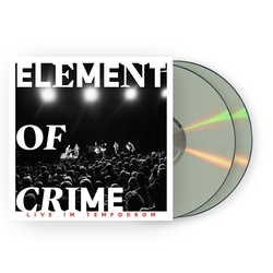 Element Of Crime Live Im Tempodrom 2xCD CD- Bingo Merch Official Merchandise Shop Official