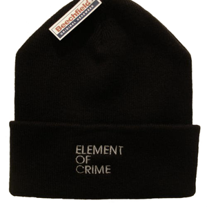 Element Of Crime Element Of Crime Logo Hat Hat- Bingo Merch Official Merchandise Shop Official