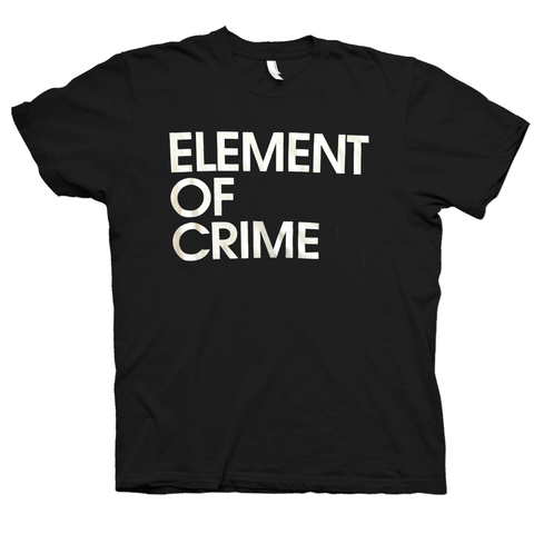 Element Of Crime Element of Crime Logo Tshirt- Bingo Merch Official Merchandise Shop Official