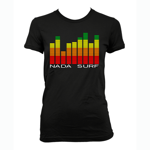 Nada Surf Equalizer - Girls T-shirt- Bingo Merch Official Merchandise Shop Official