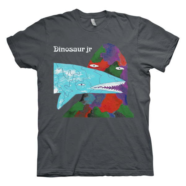 Dinosaur Jr. Fish Dood T-Shirt- Bingo Merch Official Merchandise Shop Official