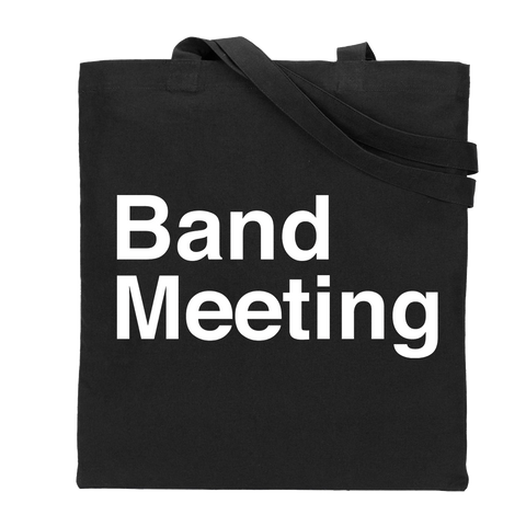 Band Meeting Tote Bag