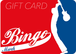 Bingo Merch Gift Card Gift Card- Bingo Merch Official Merchandise Shop Official