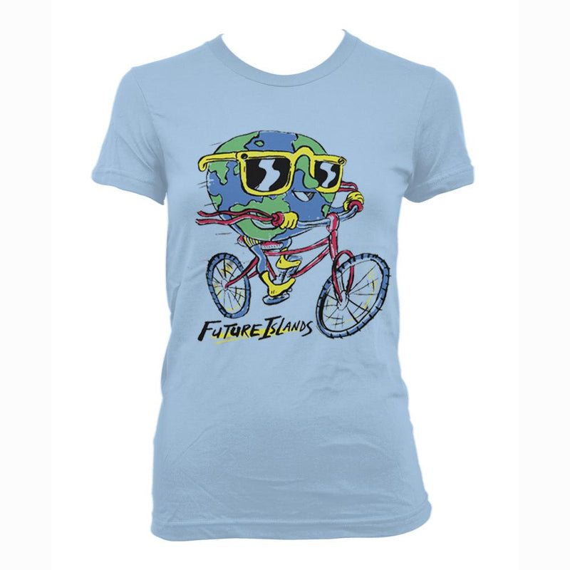 Future Islands Globeman - girls T-Shirt- Bingo Merch Official Merchandise Shop Official