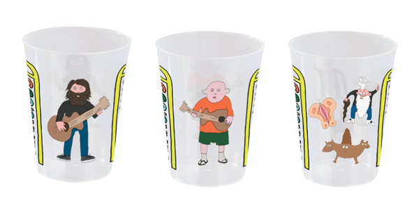 Tenacious D Post Apocalypto Beer Cup Set Other- Bingo Merch Official Merchandise Shop Official