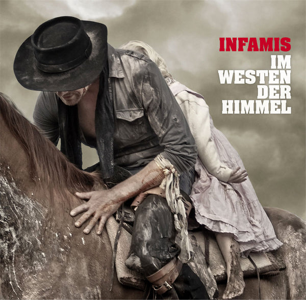 Infamis Im Westen Der Himmel LP LP+CD- Bingo Merch Official Merchandise Shop Official