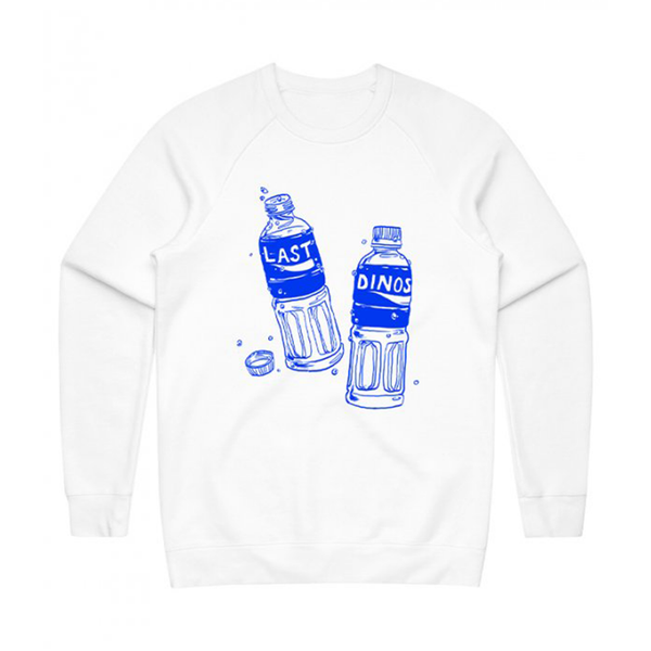 Last Dinosaurs Pocari Sweat Crewneck - Bingo Merch Official Merchandise Shop Official