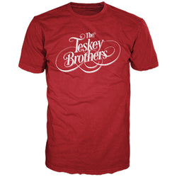 The Teskey Brothers Logo - Red