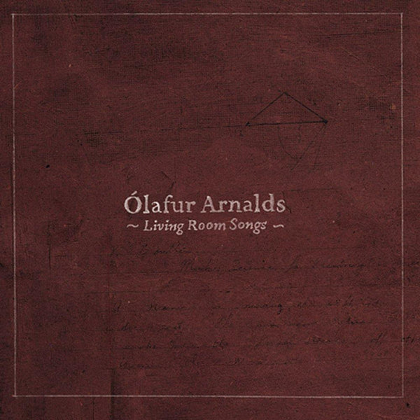 Ólafur Arnalds Living Room Songs CD CD- Bingo Merch Official Merchandise Shop Official