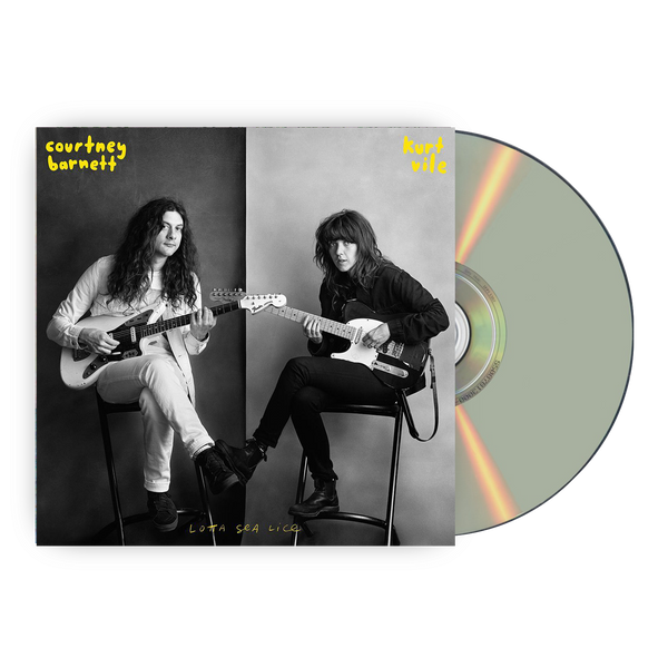 Courtney Barnett & Kurt Vile Lotta Sea Lice CD CD- Bingo Merch Official Merchandise Shop Official