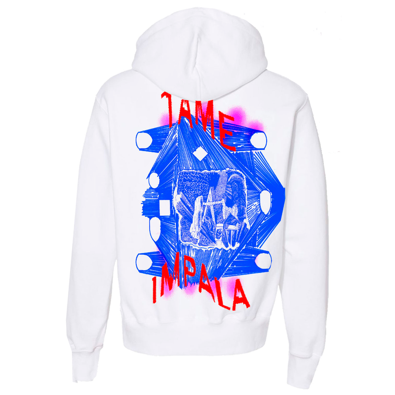 Tame Impala Luca Schenardi Hoodie Hoodie- Bingo Merch Official Merchandise Shop Official