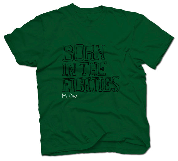 Milow Born in the 80s T-Shirt- Bingo Merch Official Merchandise Shop Official