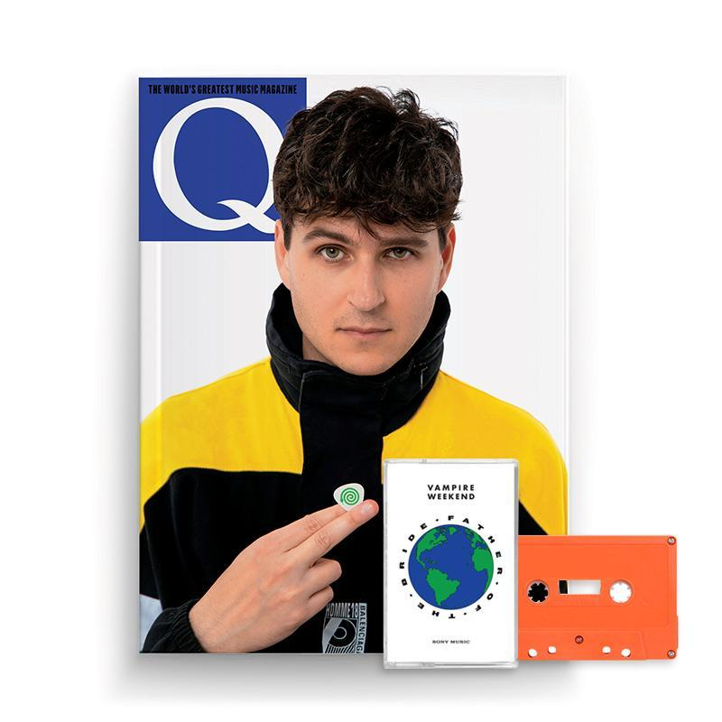 Vampire Weekend Limited Edition Q Magazine + Orange Cassette Cassette- Bingo Merch Official Merchandise Shop Official