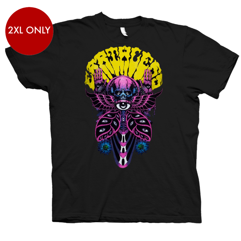 Earthless Mothman T-Shirt- Bingo Merch Official Merchandise Shop Official