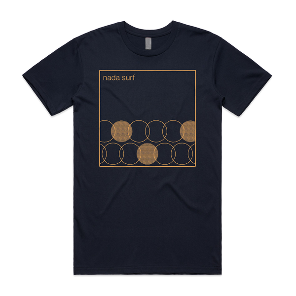Nada Surf Geometric T-Shirt- Bingo Merch Official Merchandise Shop Official