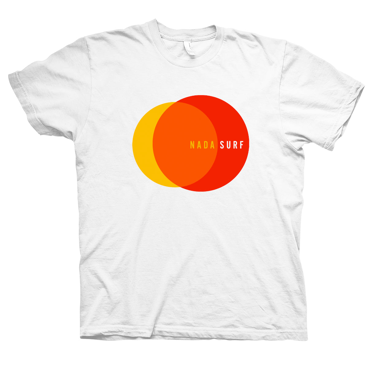 Nada Surf 2 Circles T-Shirt- Bingo Merch Official Merchandise Shop Official