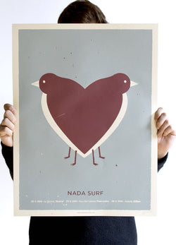 Nada Surf Spain 2016 Poster- Bingo Merch Official Merchandise Shop Official