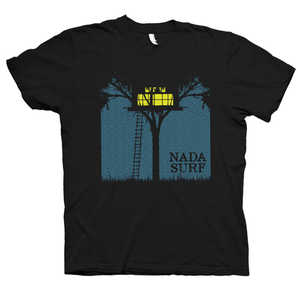 Nada Surf Treehouse 2016 T-Shirt- Bingo Merch Official Merchandise Shop Official