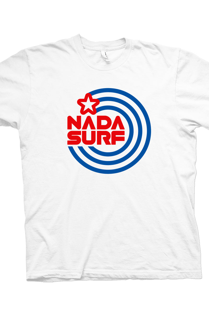 Nada Surf Cosmic Circle T-Shirt- Bingo Merch Official Merchandise Shop Official
