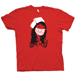 Sonic Youth Nurse Red T-Shirt- Bingo Merch Official Merchandise Shop Official