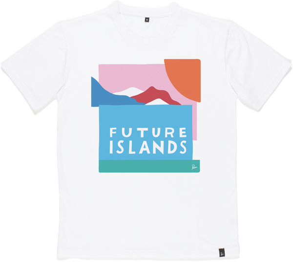 Future Islands Parra Landscape T-Shirt- Bingo Merch Official Merchandise Shop Official