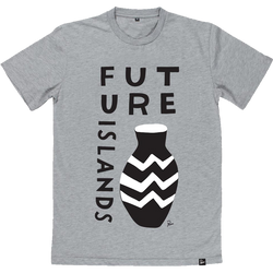 Future Islands Parra Vase T-Shirt- Bingo Merch Official Merchandise Shop Official